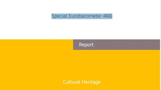 Eurobarómetro. 2018 Año Europeo del Patrimonio Cultural