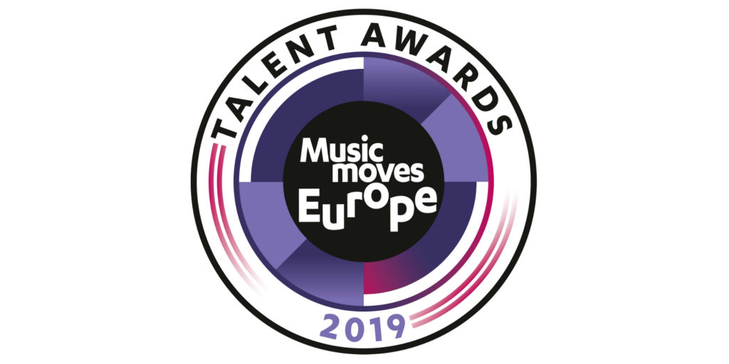 "Premiados en los premios de música ""Music Moves Europe Talent Awards 2019"""