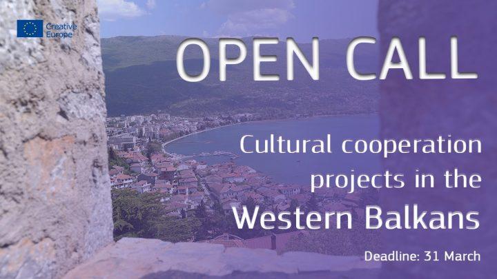 Proyectos de cooperación cultural en los Balcanes occidentales