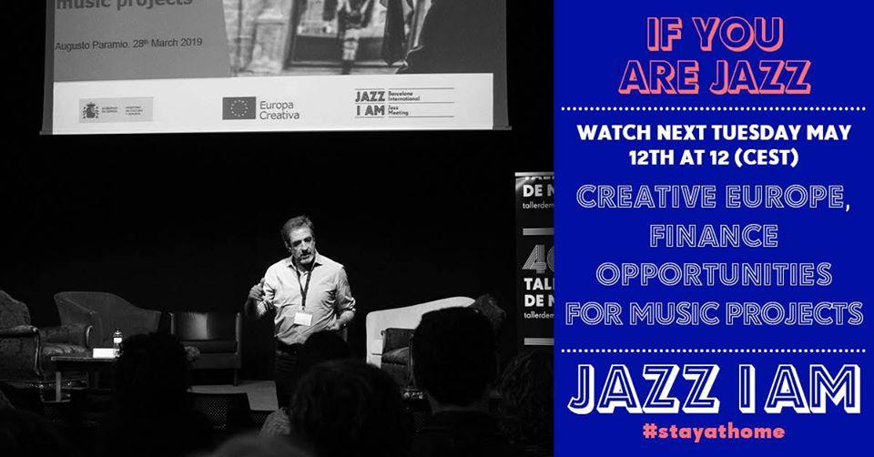 Facebook Live junto con «Jazz I Am»: Europa Creativa y el sector musical