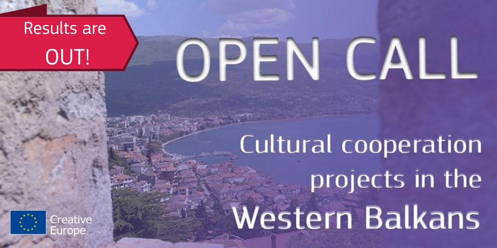 Resultados de la convocatoria de Proyectos de Cooperación Cultural en los Balcanes Occidentales