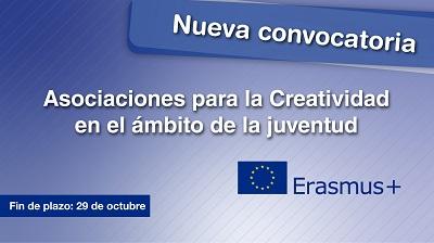 Nueva convocatoria del programa ERASMUS+
