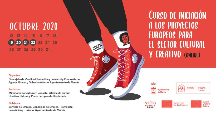 Curso de Iniciación a los Proyectos Europeos para el sector Cultural y Creativo