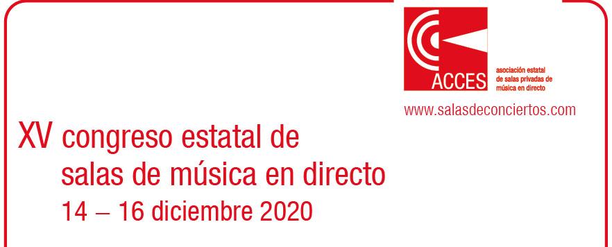 XV Congreso Estatal de Salas de Música en Directo