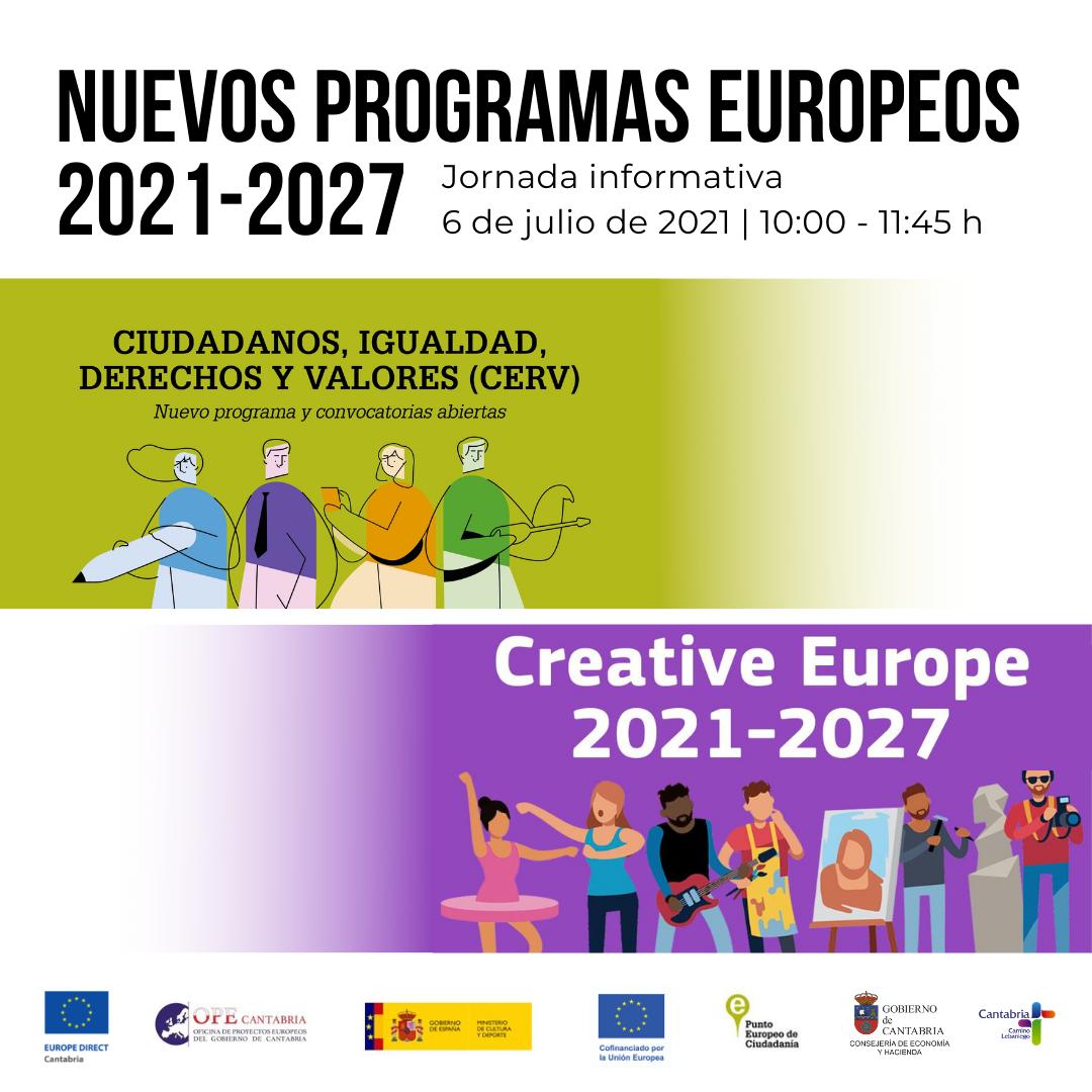 Jornada Nuevos Programas europeos 2021-2027