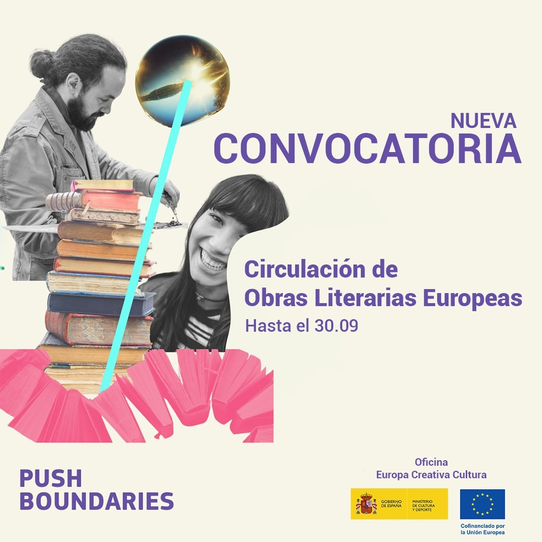 Webinar Convocatorias 2021: Circulación de Obras Literarias Europeas