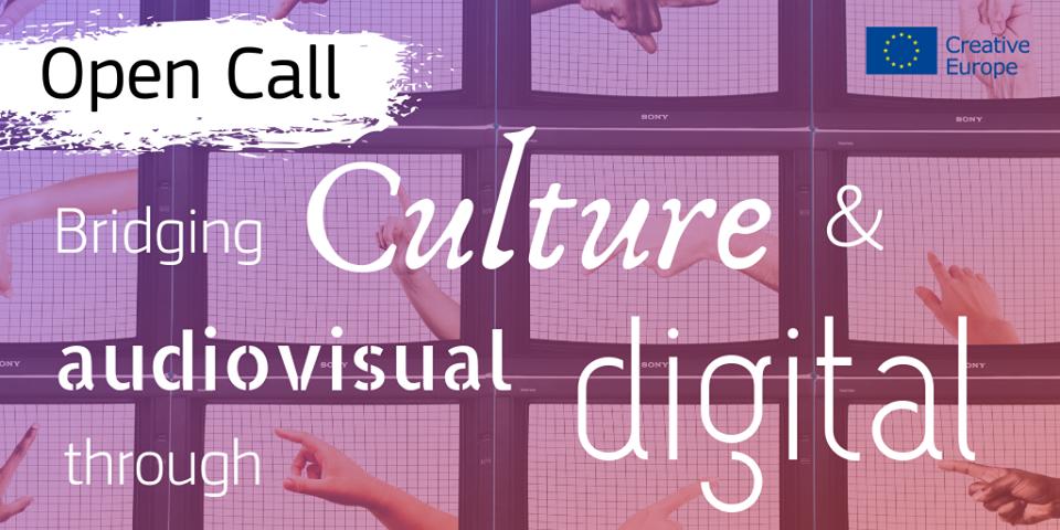 """Abierta la convocatoria """"Tender puentes entre contenidos culturales y audiovisuales a través de la tecnología digital"""""""